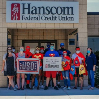 Super Hero Event with USO Superheros